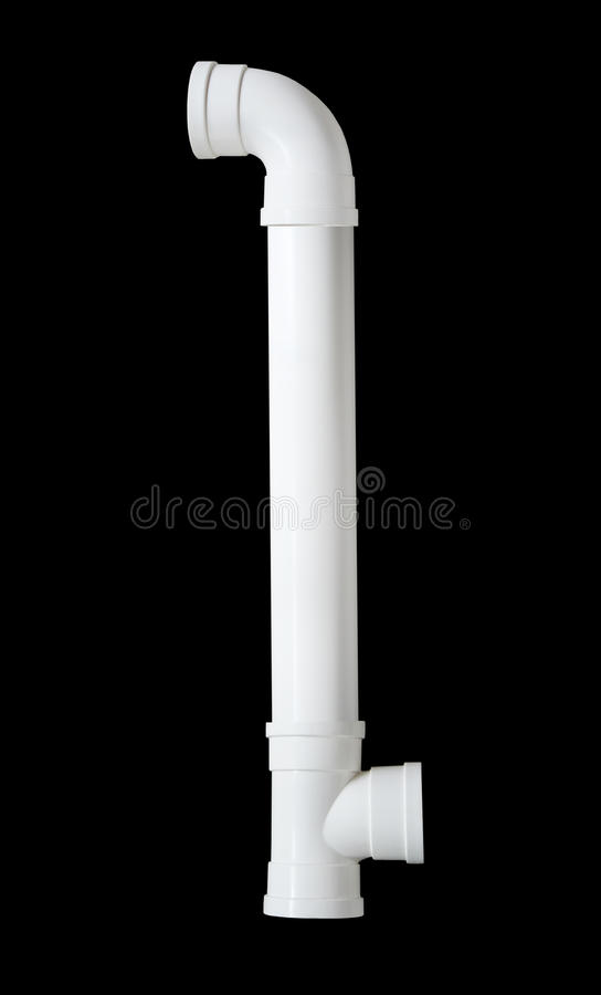 PVC Plumbing Pipe Connector royalty free stock images