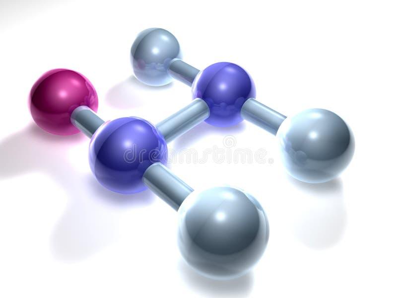 Pvc - Polyvinylchlorid royalty-vrije illustratie