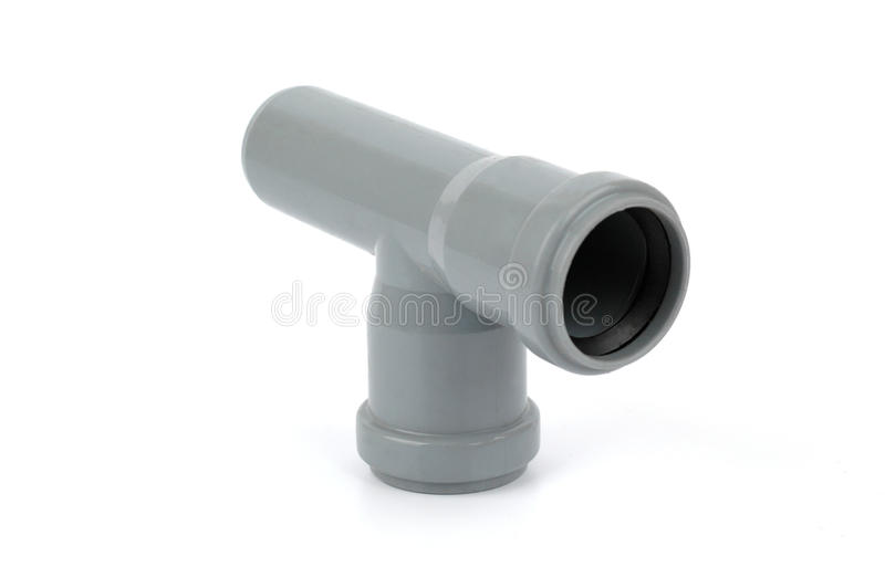 Download Pvc Tee Fitting Used In Water Distribution Systems Stock Image - Image: 17364087