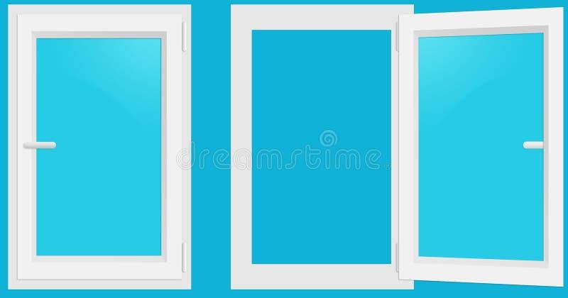 PVC Windows imagen de archivo