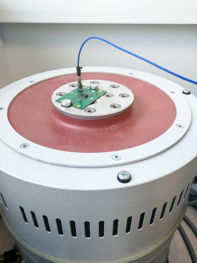 PWB de la electrónica preparado para la prueba de la confiabilidad fotografía de archivo libre de regalías