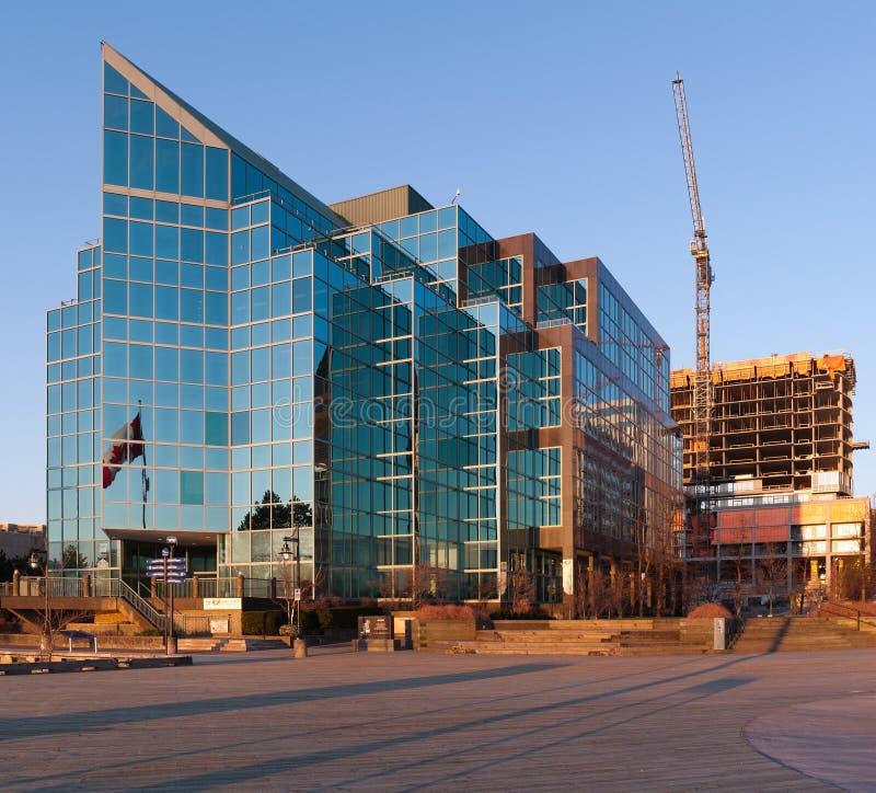 PWC-Bürogebäude stockfoto
