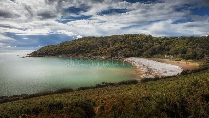 Pwll Du Skälla Swansea fotografering för bildbyråer