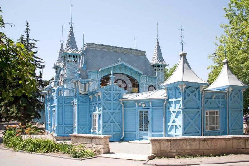 Pyatigorsk Parque de la flor Galería de Lermontov imagen de archivo libre de regalías