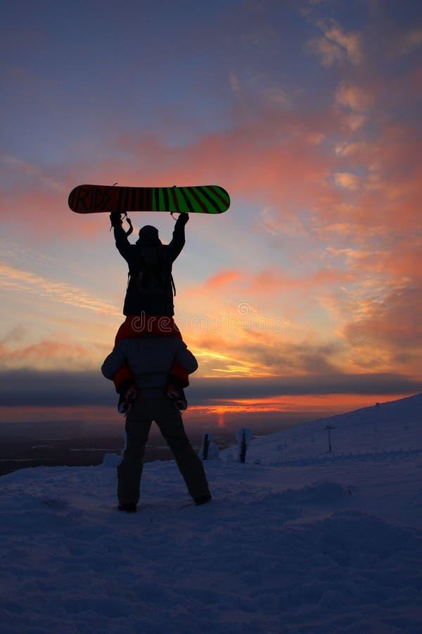 Pyhätunturi Ski Resort stock photo