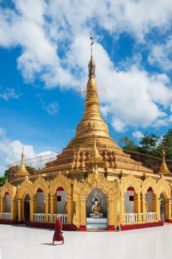 Pyi Daw Aye Pagoda dans Kawthaung, Myanmar photos stock