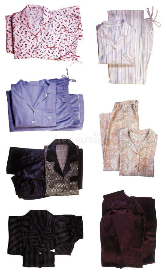 Pyjama's royalty-vrije stock afbeeldingen