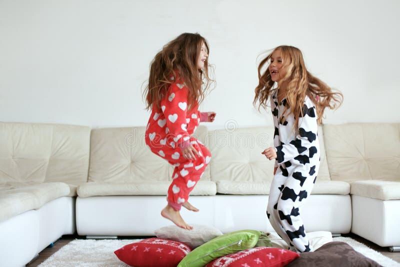 Pyjama'spartij royalty-vrije stock afbeelding