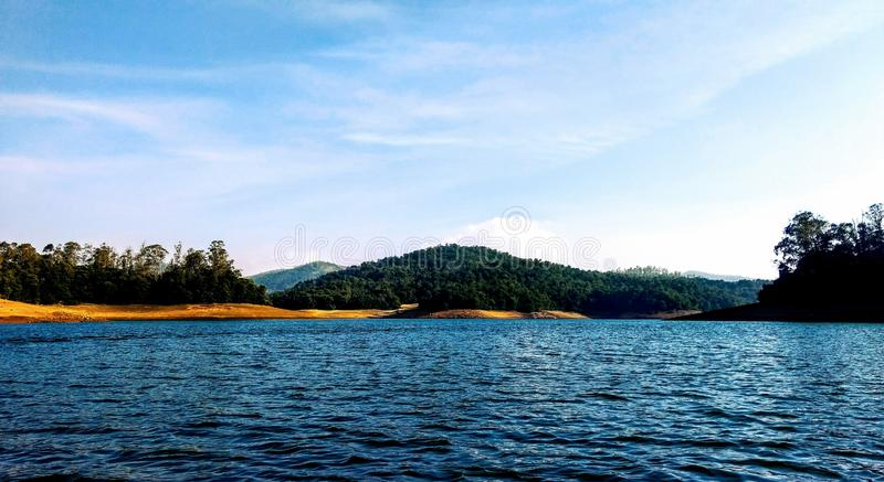 Pykara湖ooty泰米尔・那杜印度 库存图片