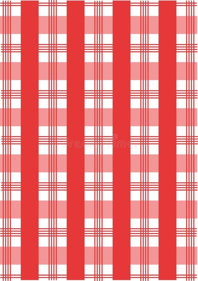 Pykniczny Tablecloth wzór zdjęcia royalty free