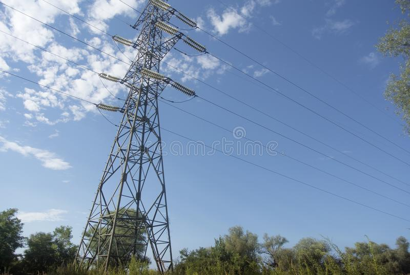 pylône photo stock