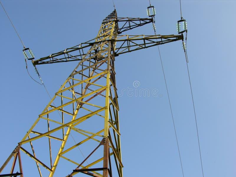 Pylône de l'électricité photographie stock libre de droits