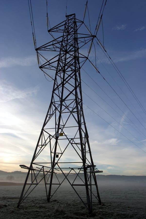 Pylône De L électricité Photos libres de droits