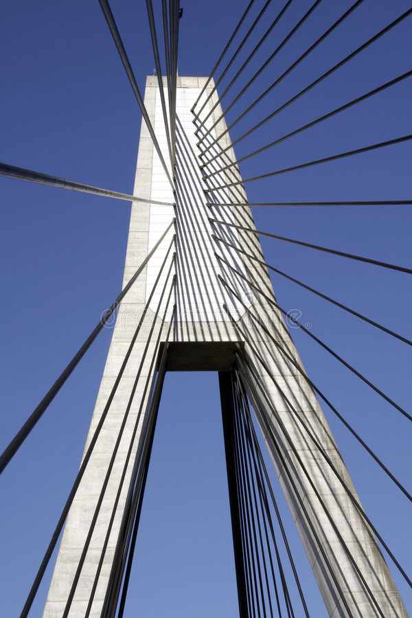 pylône de passerelle d'anzac photos stock