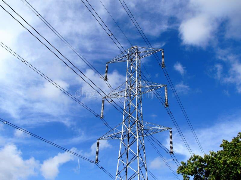 Download Pylône image stock. Image du électricité, ciel, utilitaire - 77155679