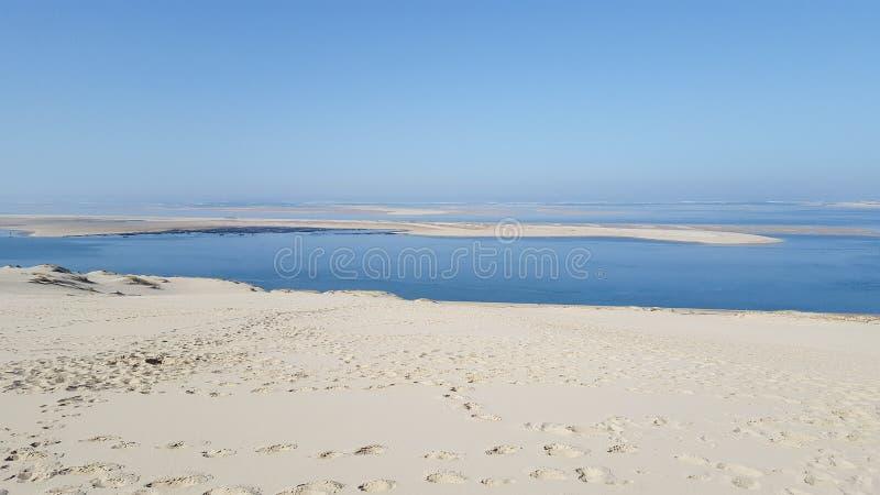 Pyla de Dune du Pilat la plus grande dune de sable en Europe France photo libre de droits