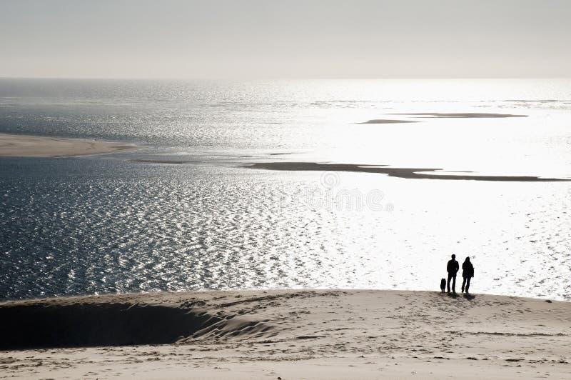 pyla du дюны стоковые фото
