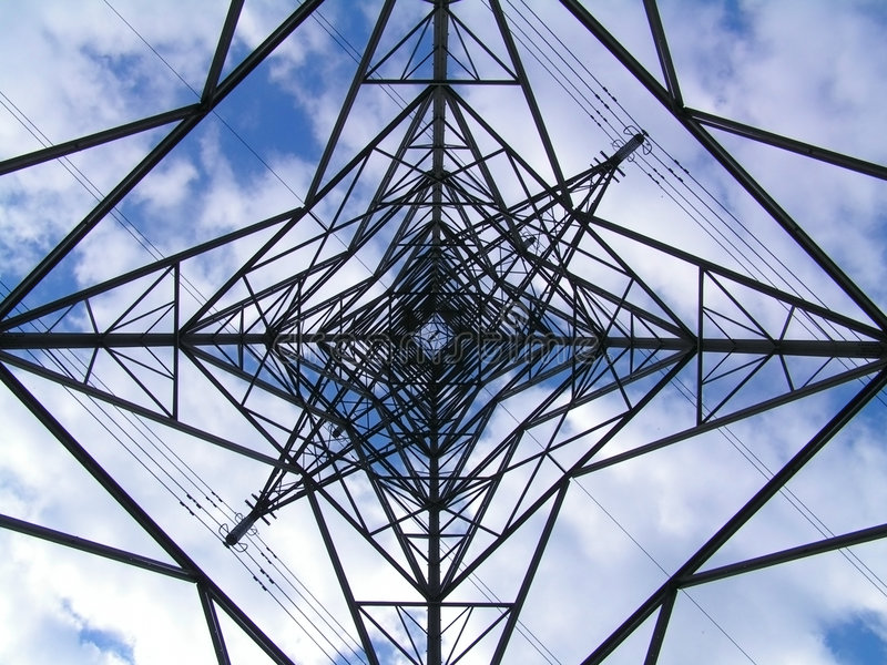Download Pylon stock image. Image of insulators, clouds, high, electricity - 157275