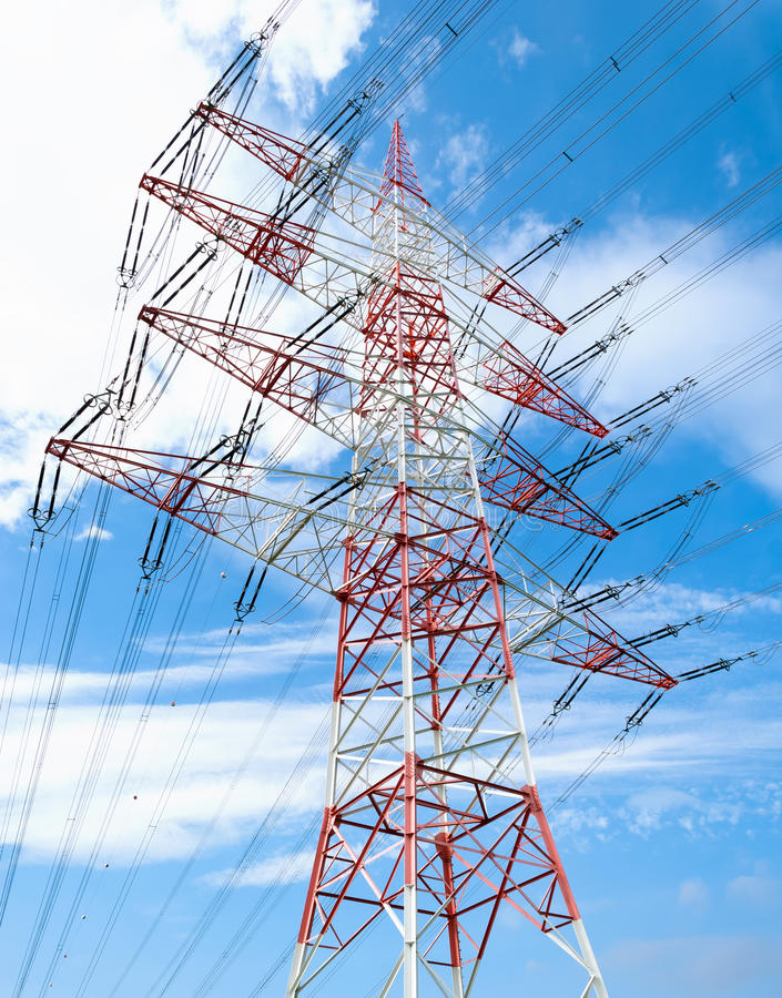 Download Pylon stock photo. Image of energetic, germany, blue - 26622004