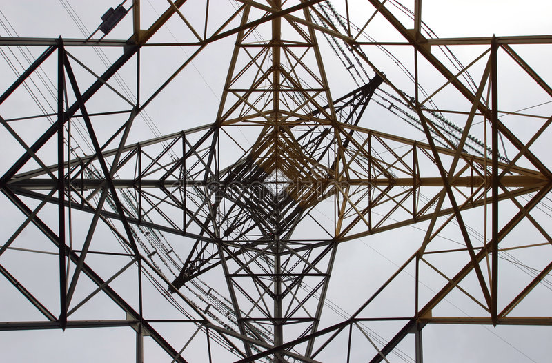 pylon royaltyfri foto