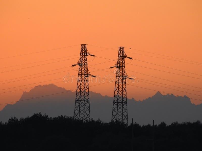 pylons fotografering för bildbyråer