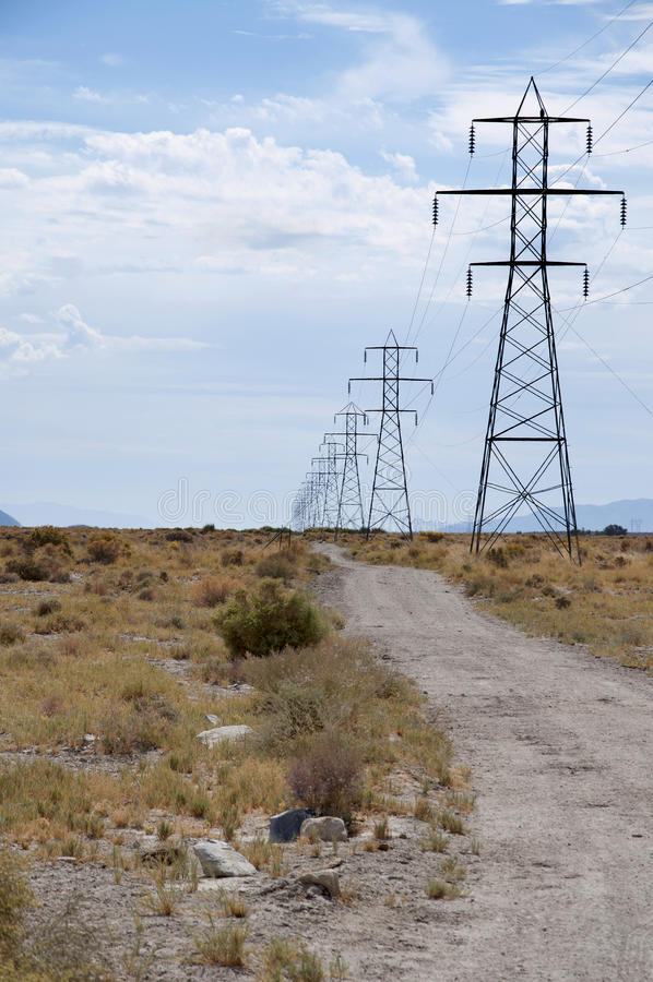 Download Pylons of power stock photo. Image of construction, fuel - 17539298