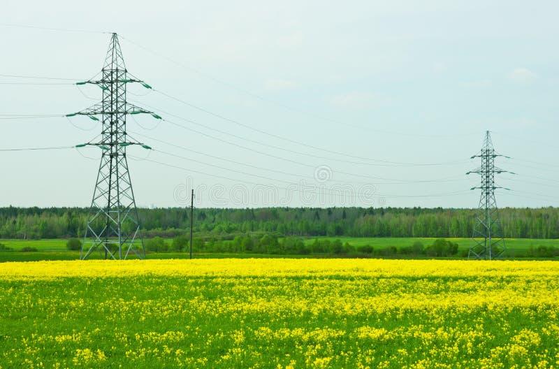 pylons två royaltyfri foto