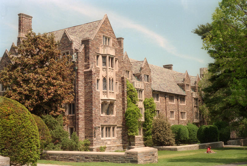 Pyne Hall - Princeton University. Pyne Hall is a dormitory on the Princeton University campus in Princeton, New Jersey stock image