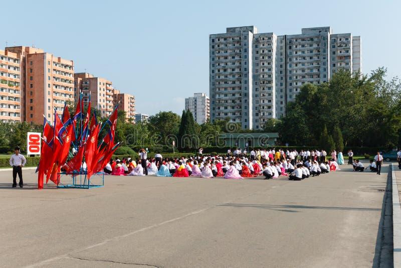 Pyongyang, Coreia norte imagem de stock royalty free