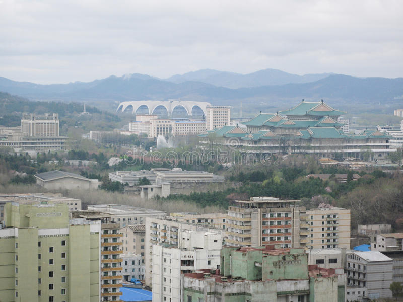 Download Pyongyang, in North Korea. stock photo. Image of north - 10224336