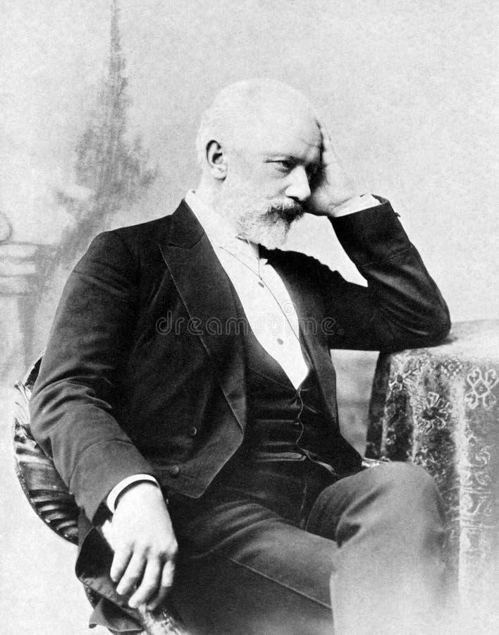 Pyotr Ilyich Tchaikovsky royalty-vrije stock afbeelding