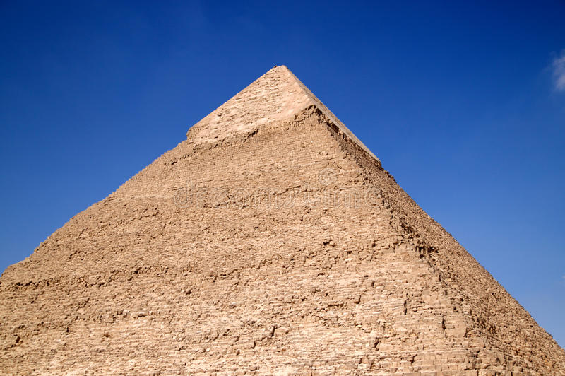 pyramid arkivbild