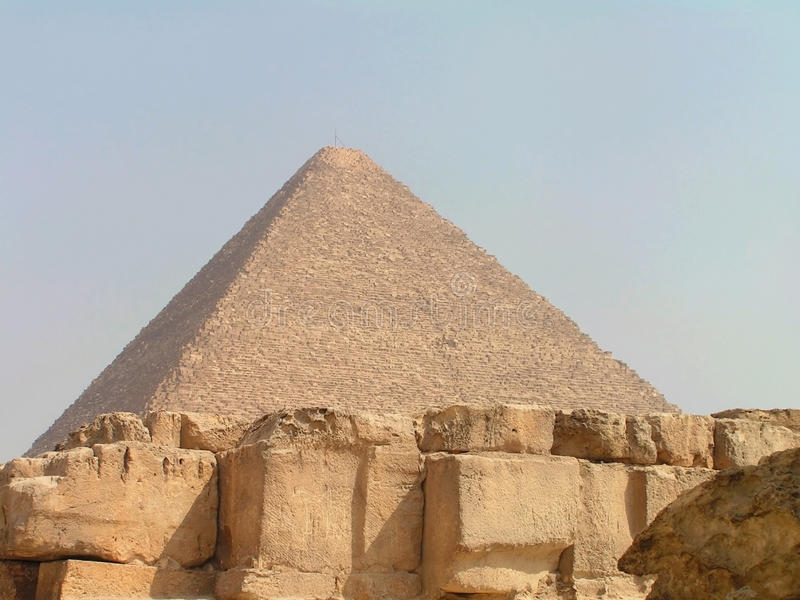 pyramid royaltyfri bild