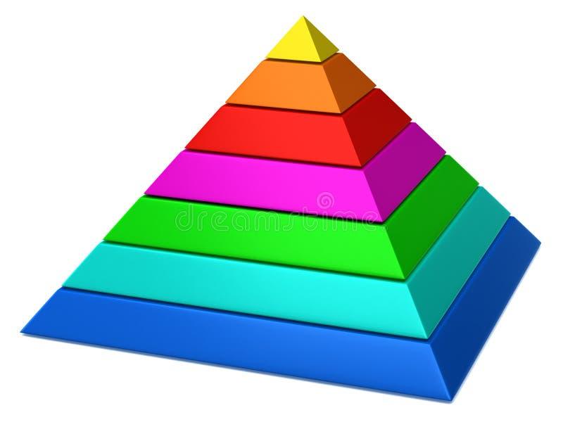 pyramid stock illustration