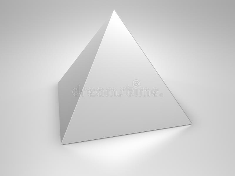 Pyramid stock illustration