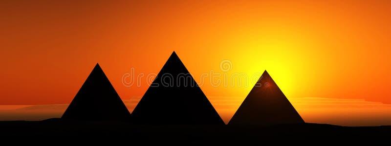 Download Pyramid stock illustration. Illustration of outdoor, landscape - 608433