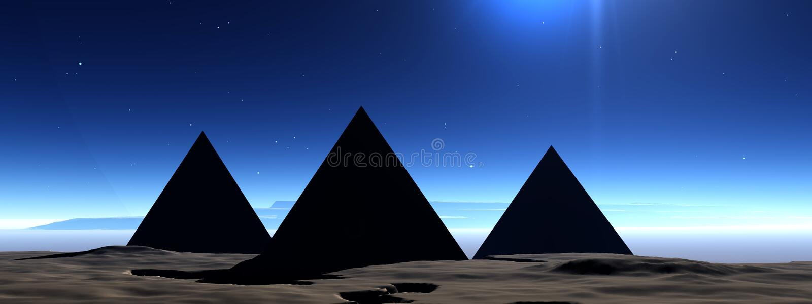 Pyramid 7 stock photo
