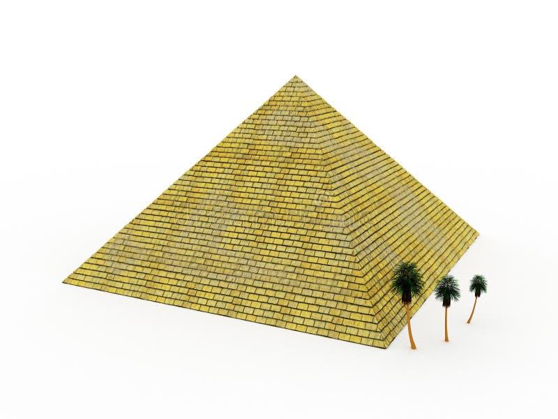 Pyramid royalty free illustration