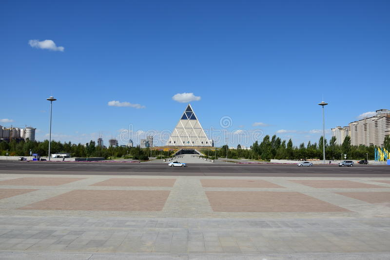 The Pyramid in Astana / Kazakhstan royalty free stock photography