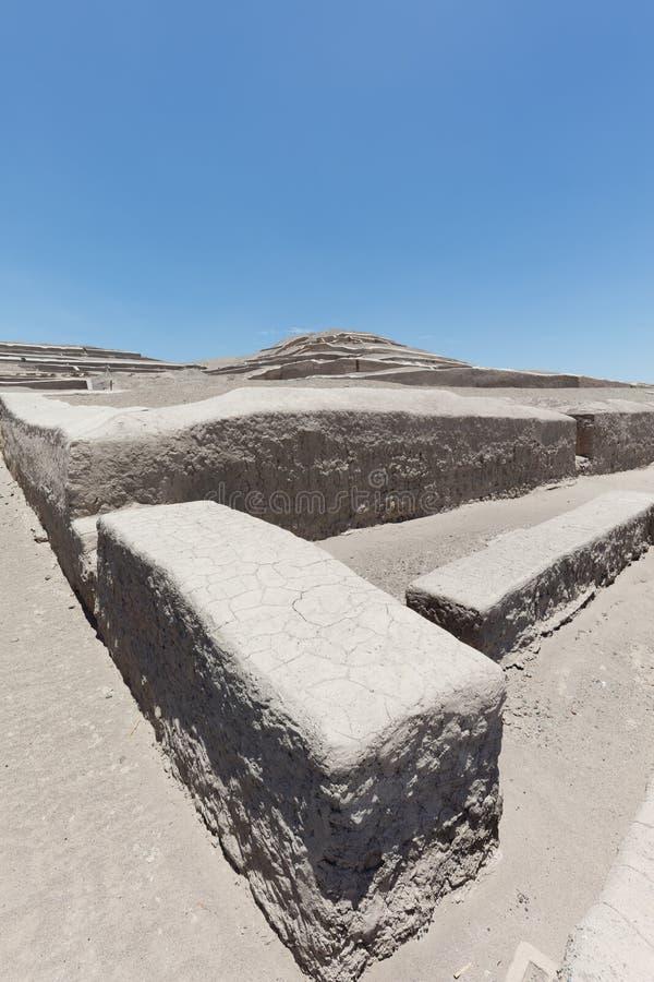 Pyramid av Cauachi royaltyfria foton