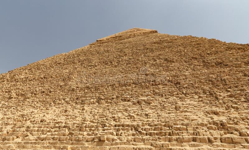 Pyramid av Khafre i det Giza pyramidkomplexet, Kairo, Egypten royaltyfria foton