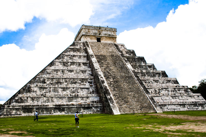 Download Pyramid Of Chichen Itza, Mexico Stock Photo - Image: 10840038