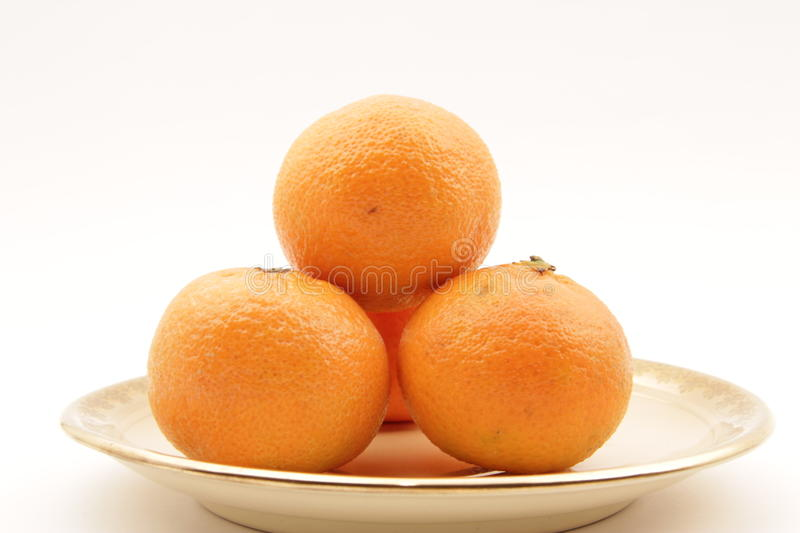 Pyramid Of Clementines Royalty Free Stock Photography