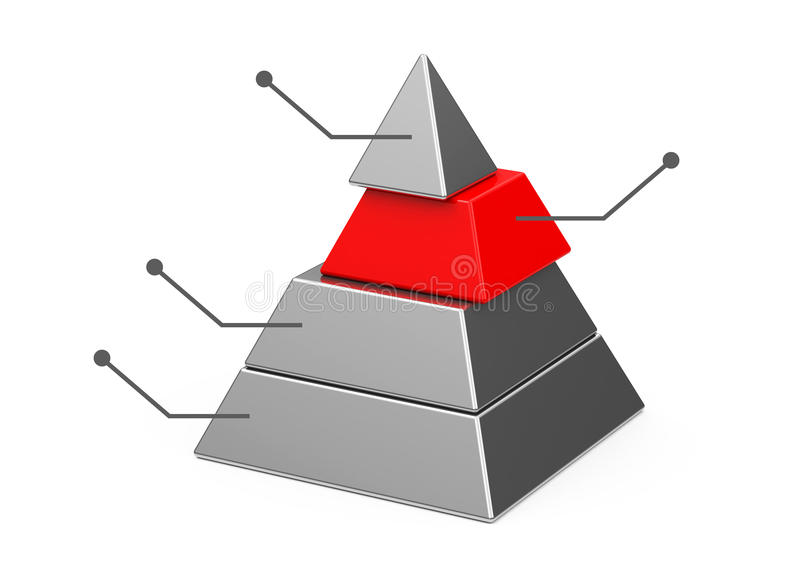 Download The pyramid stock illustration. Image of four, layout - 39713557