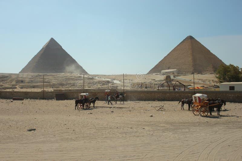 Pyramid of Giza stock photos