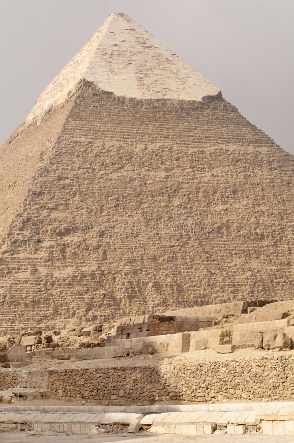 Download Pyramid of Khafre, Egypt. stock photo. Image of khafre - 15581466