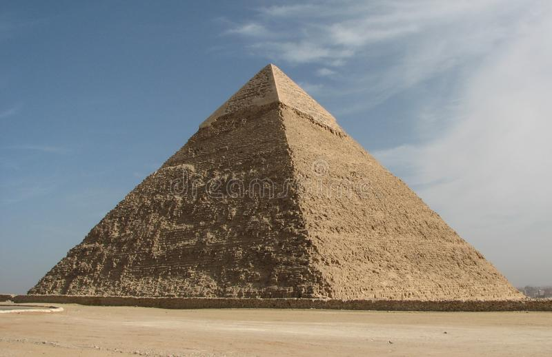 The Pyramid of Khafre royalty free stock image
