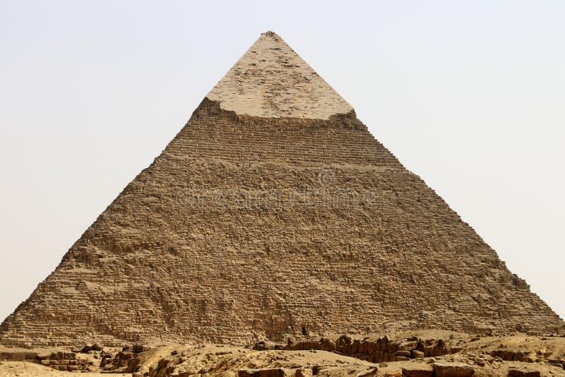 Pyramid of Khafre royalty free stock image