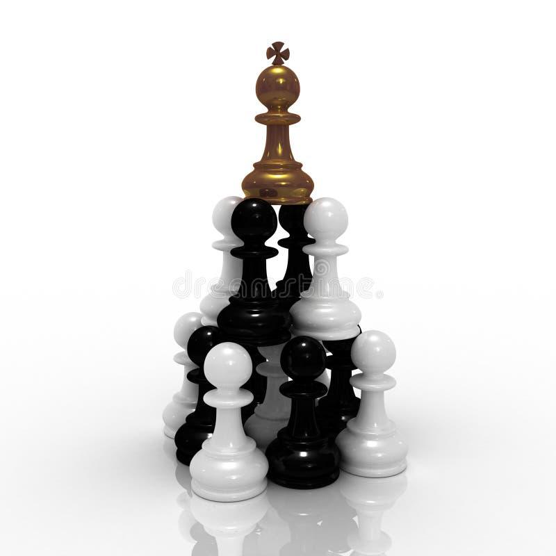 Pyramid MLM stock illustration