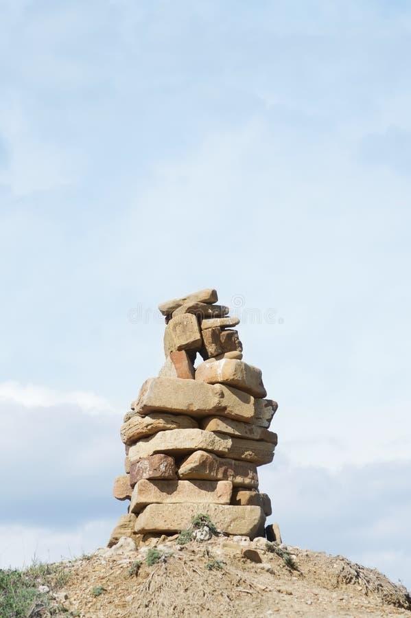 Pyramid Of Stones Royalty Free Stock Photos
